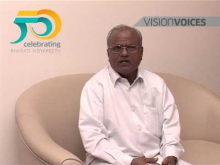 Dr. V.M. Mane, Member, Executive Commitee, Bharati Vidyapeeth